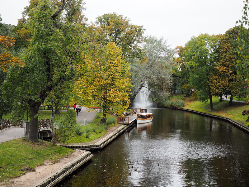 Bastion Hill park in Riga, Latvia
