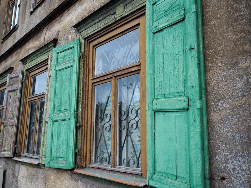 Old Soviet district of Riga, Latvia