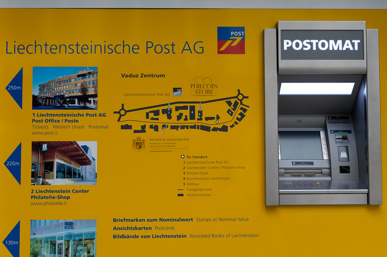 Automated Teller Machine in Liechtenstein