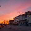 Hotel Bayerischer Hof at sunset
