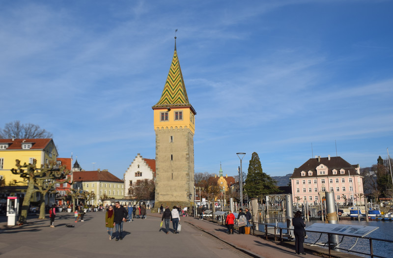 The promenade and the Mangturm