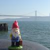 Jerome the Gnome with the bridge