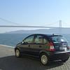 My rental car