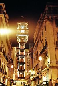 Lisbonne - Elevador da Justa