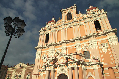 The Jesuit Church of  St. Casimir -Vilnius, Lithuania