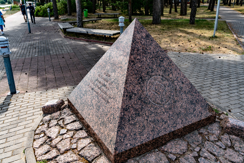 UNESCO Marker in Nida, Lithuania