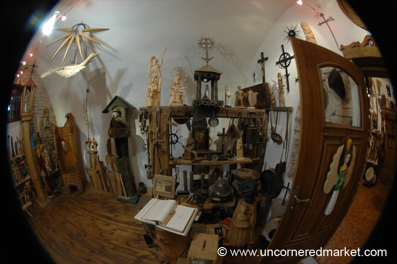 Lithuanian Wood Carvings - Vilnius, Lithuania