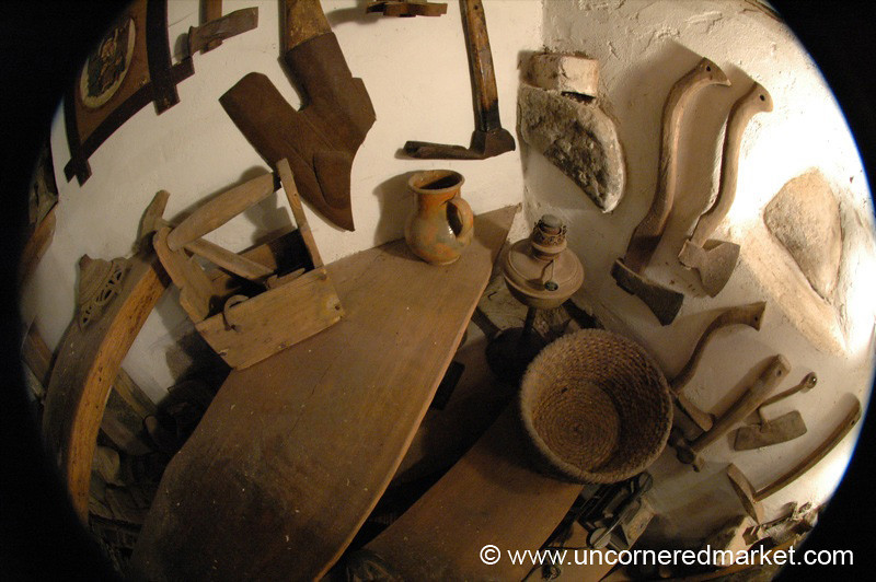 Wood-Carving Traditional Tools - Vilnius, Lithuania