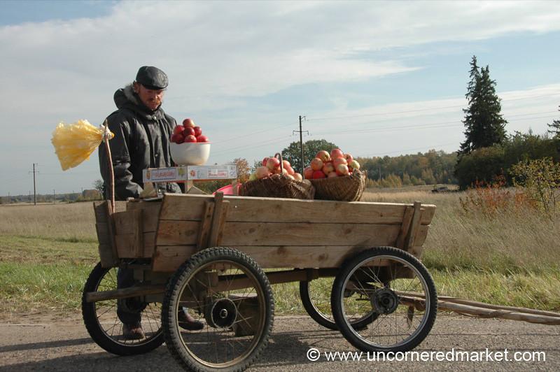 Lithuanian Apple Cart - Siauliai, Lithuania