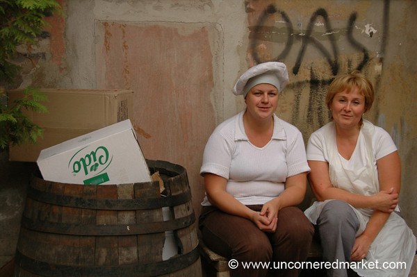 Lithuanian Women Cooks - Vilnius, Lithuania