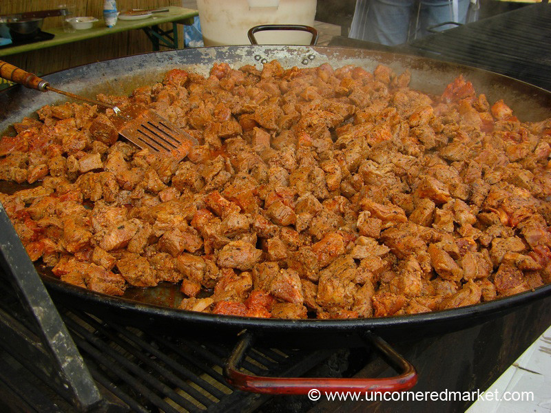 Street Food, Lots of Meat - Vilnius, Lithuania