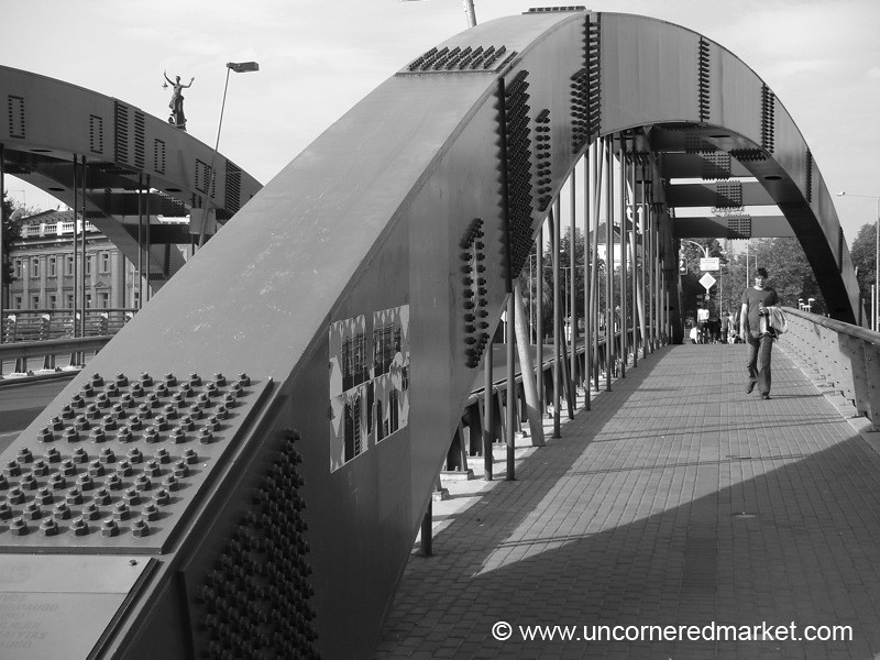 Bridge Over Neris River - Vilnius, Lithuania