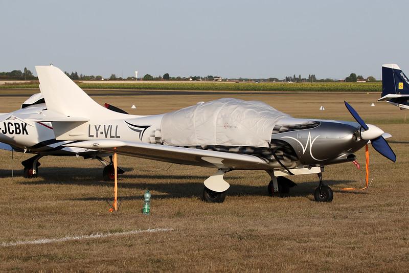 LY-VLL Vanessa Air VL-3 Evolution c/n VL-3-158 Blois/LFOQ/XBQ 01-09-18