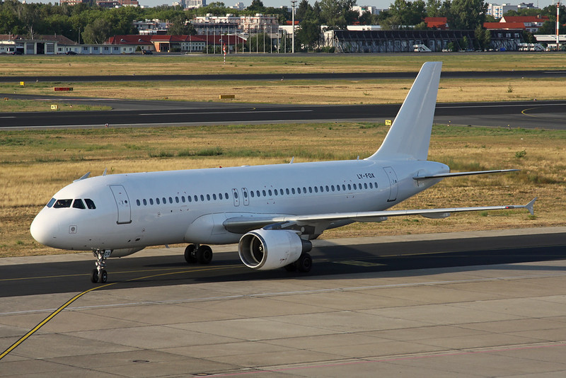 "LY-FOX Airbus A320-214 ""Getjet Airlines"" c/n 1087 Berlin-Tegel/EDDT/TXL 22-08-18"