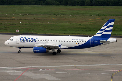 "LY-SPC Airbus A320-231 ""Grand Cru Airlines"" c/n 0415 Cologne/EDDK/CGN 03-06-17 ""Ellinair"""