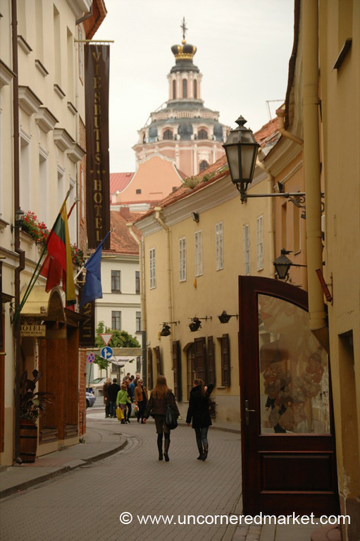 Streets of Old Town - Vilnius, Lithuania