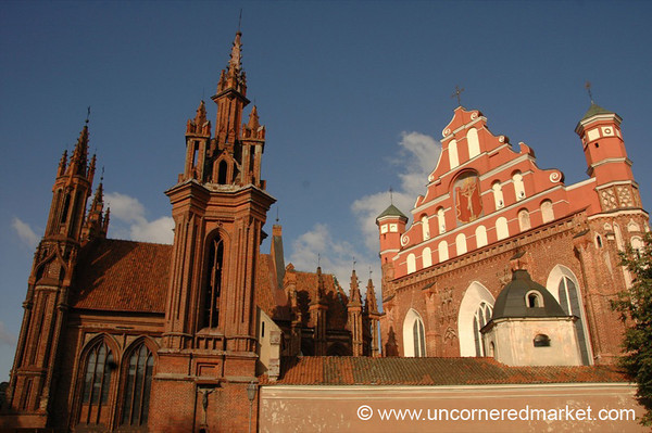 St. Anne's Church - Vilnius, Lithuania