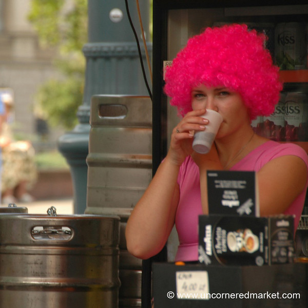 Pink Wig - Vilnius, Lithuania