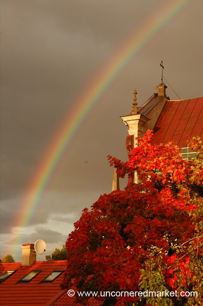 Rainbow in Autumn - Vilnius, Lithuania