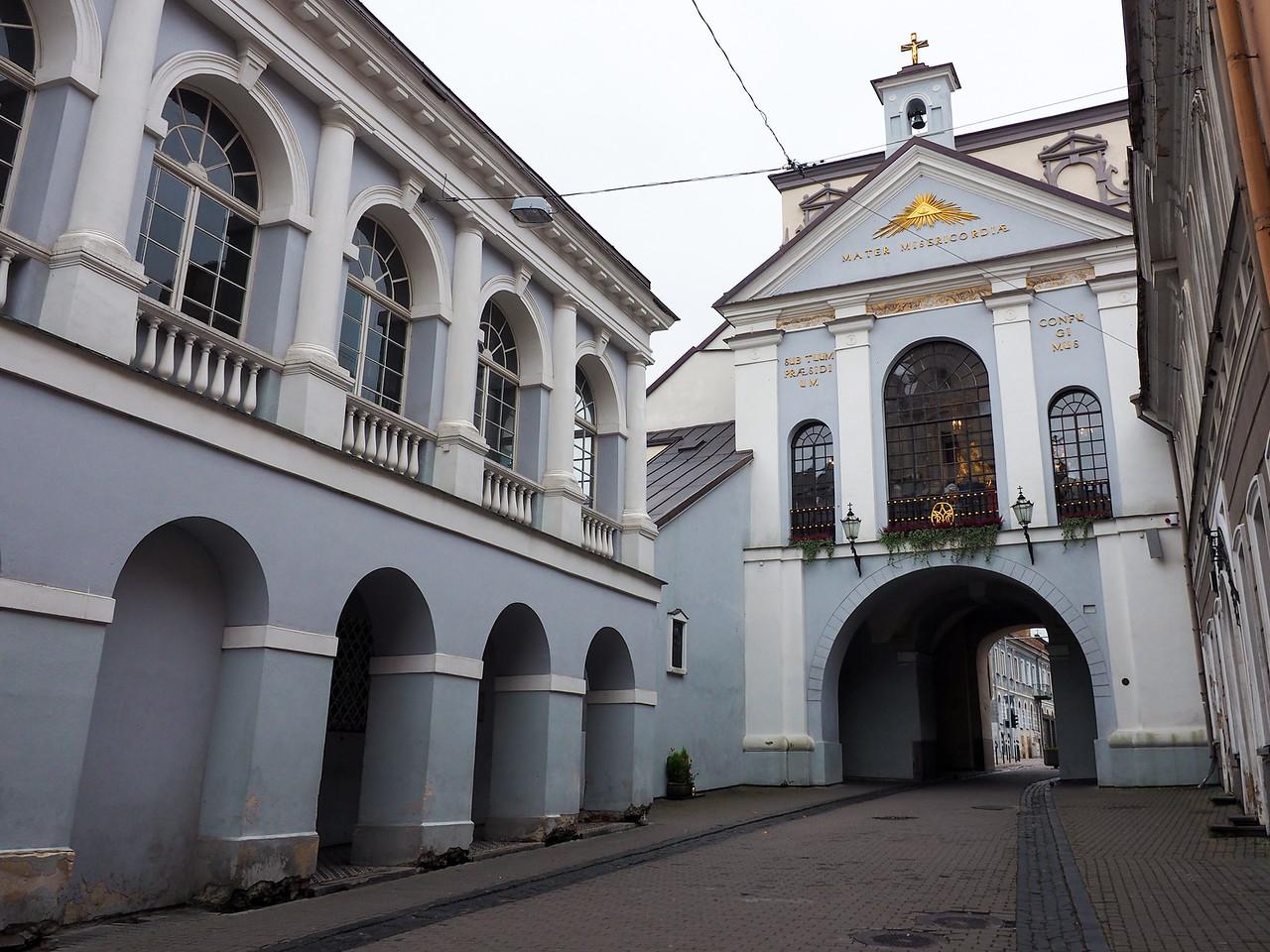 Gate of Dawn in Vilnius, Lithuania