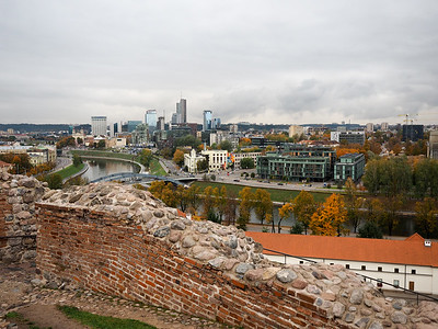View of Vilnius from the castle