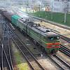 2T310M 3608 passing Vilnius, Lithuania, 15th October 2007