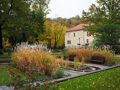 Garden in Vilnius, Lithuania