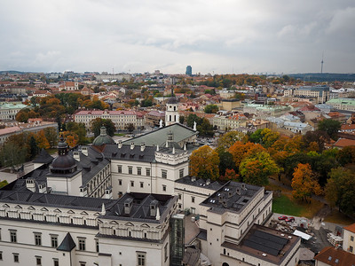 View from Gediminas Tower in Vilnius