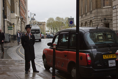 Doorman and Taxi