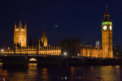 Big Ben, at the House of Parliament, London, England