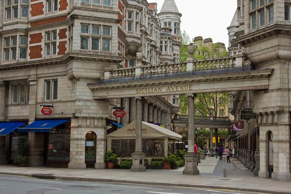 Sicilian Avenue Mall, Bloomsbury, London, England
