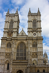 Hawksmoor's Towers, Westminster Abbey, London, England