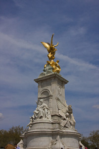 Queen Victoria Memorial at Buckingham Palace, London, England