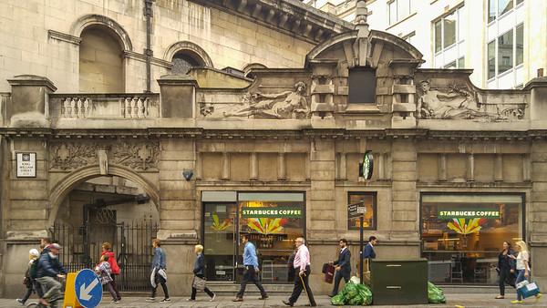 London Financial District, Historic Starbucks