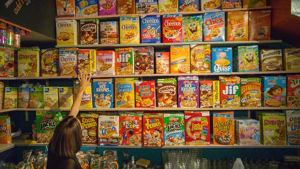 Cereal Killer Cafe, Brick Lane, London
