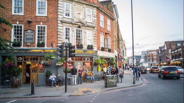 A Brick Lane Pub
