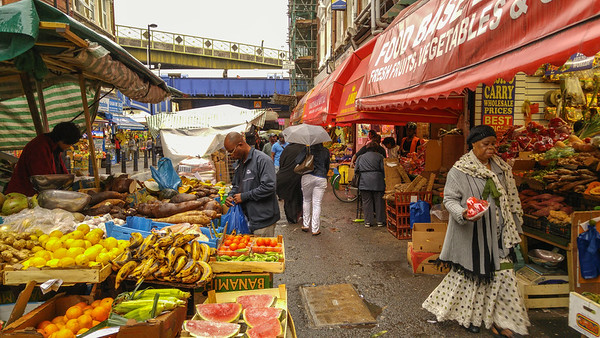 Brixton Market, London