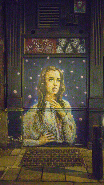 Street art in Aldgate, London