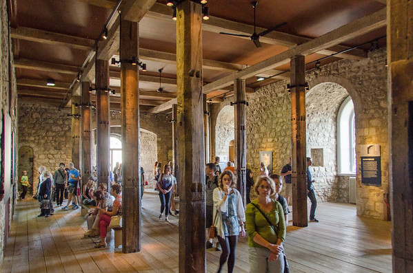 Inside White Tower | Walking Tour of the Tower of London
