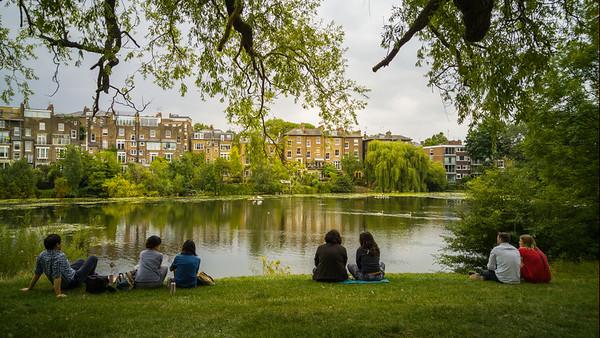 A walk through Hampstead Heath, London