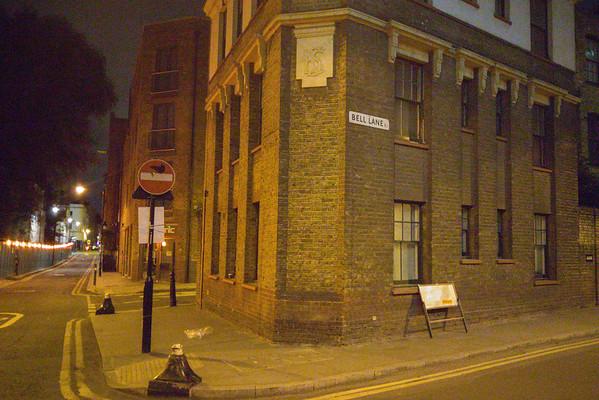 Aldgate area Jack the Ripper neighborhood