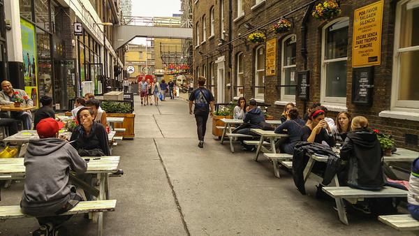 Old Truman Brewery Market, Brick Lane, London
