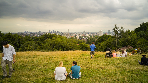 A walk through Hampstead Heath, London