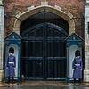guardsmen on Cleveland Row