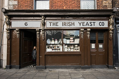 Irish Yeast Co w Rebecca in doorway