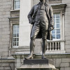 Edmund Burke statue Trinity College Dublin