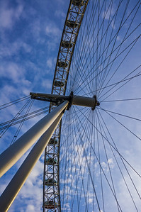 detail London Eye