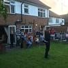 4th of July party in Ealing. Most families work in EOARD.