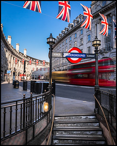 Early morning at Regent Street
