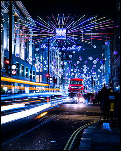 Oxford Street Christmas Lights 2018